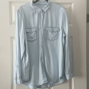 EUC Mossimo Supply Co. Boyfriend Fit Shirt